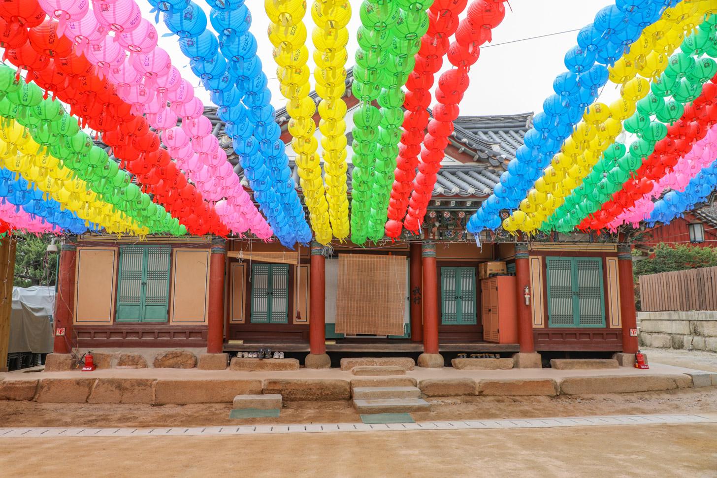 Bongeunsa Tempel