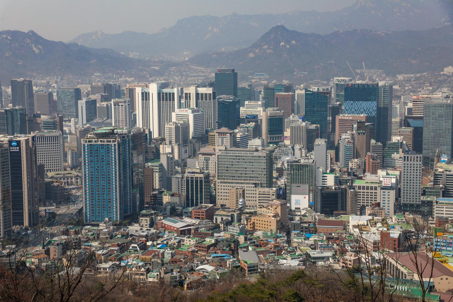 Tegenwoordig is Seoul een echte metropool